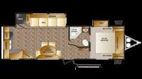 2012 Cruiser 28RKX Floor Plan