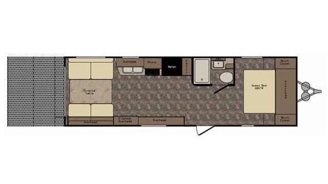 2017 Z-1 ZT278RR Floor Plan