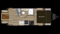 2019 Cruiser MPG 2000RD Floor Plan