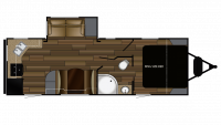 2019 Cruiser MPG 2450RK Floor Plan