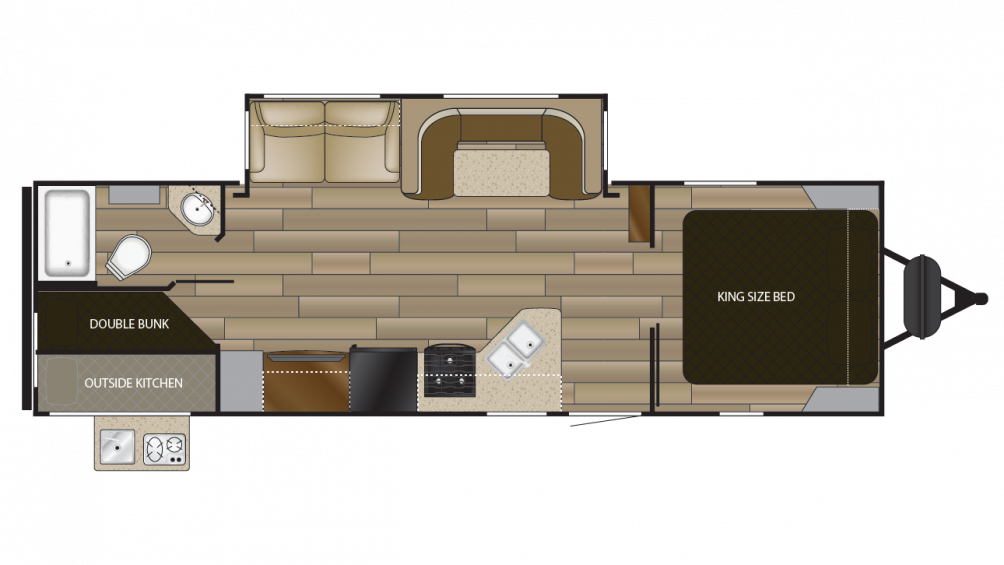 2018 Cruiser MPG 2750BH Floor Plan Img