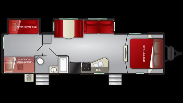 2019 Cruiser MPG 3100BH