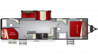 2019 Cruiser MPG 3200DB Floor Plan