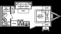 2010 Shadow Cruiser 195WBS Floor Plan