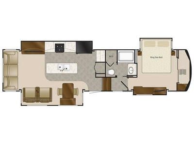 2018 Elite Suites 38RSSA Floor Plan