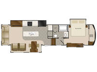 2019 Elite Suites 38RSSA Floor Plan