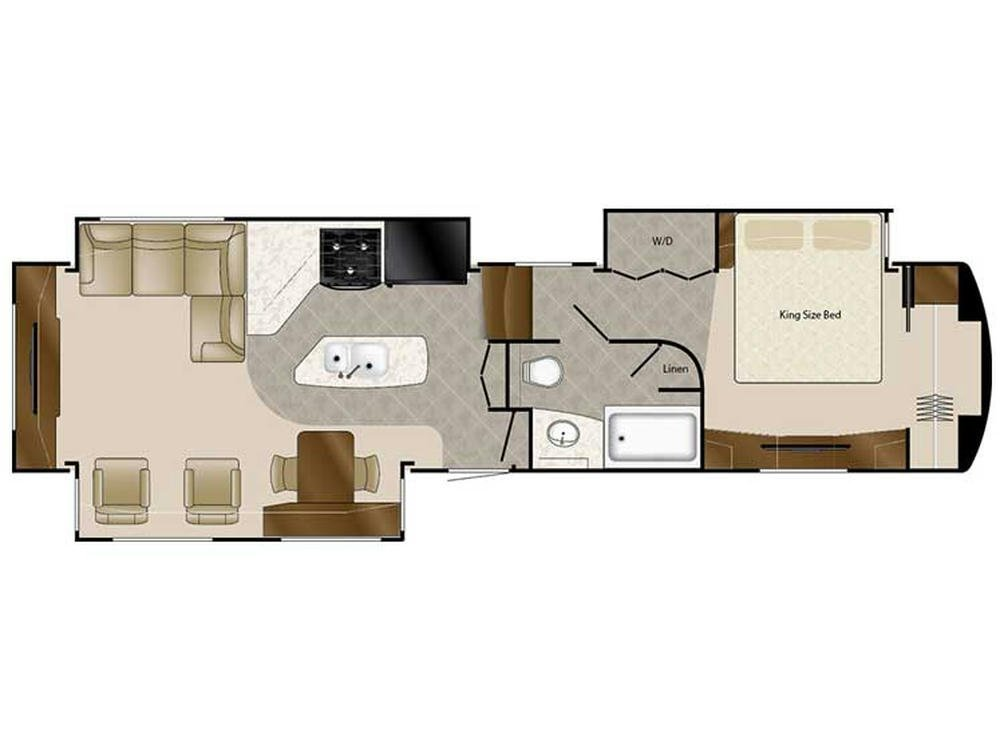 2018 Elite Suites 39RESB3 Floor Plan