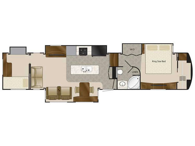 2018 Elite Suites 43 ATLANTA Floor Plan