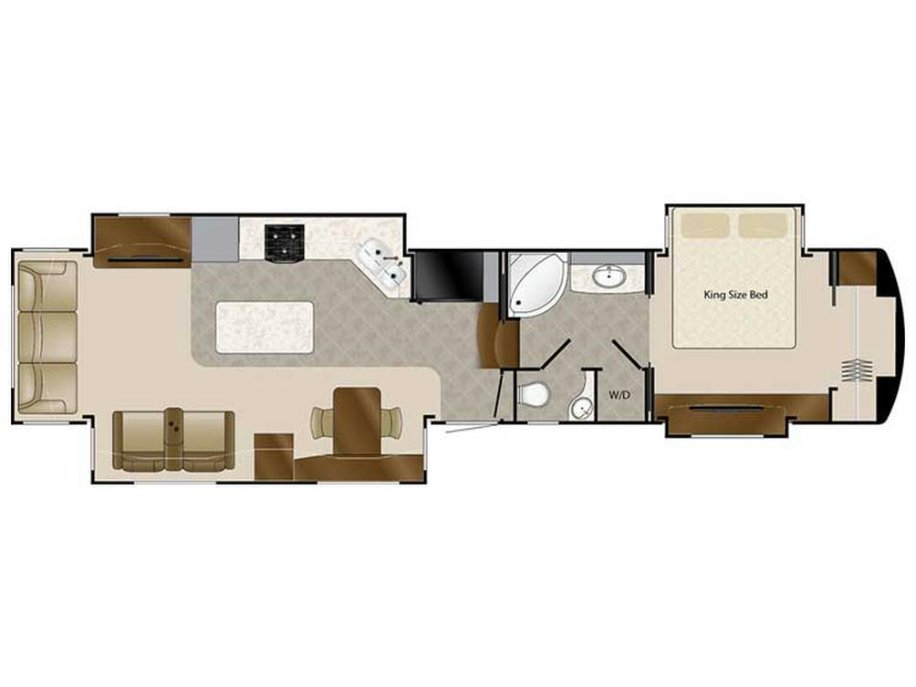 2018 Elite Suites 43 DALLAS Floor Plan