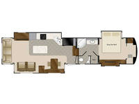 2019 Elite Suites 43 DALLAS Floor Plan