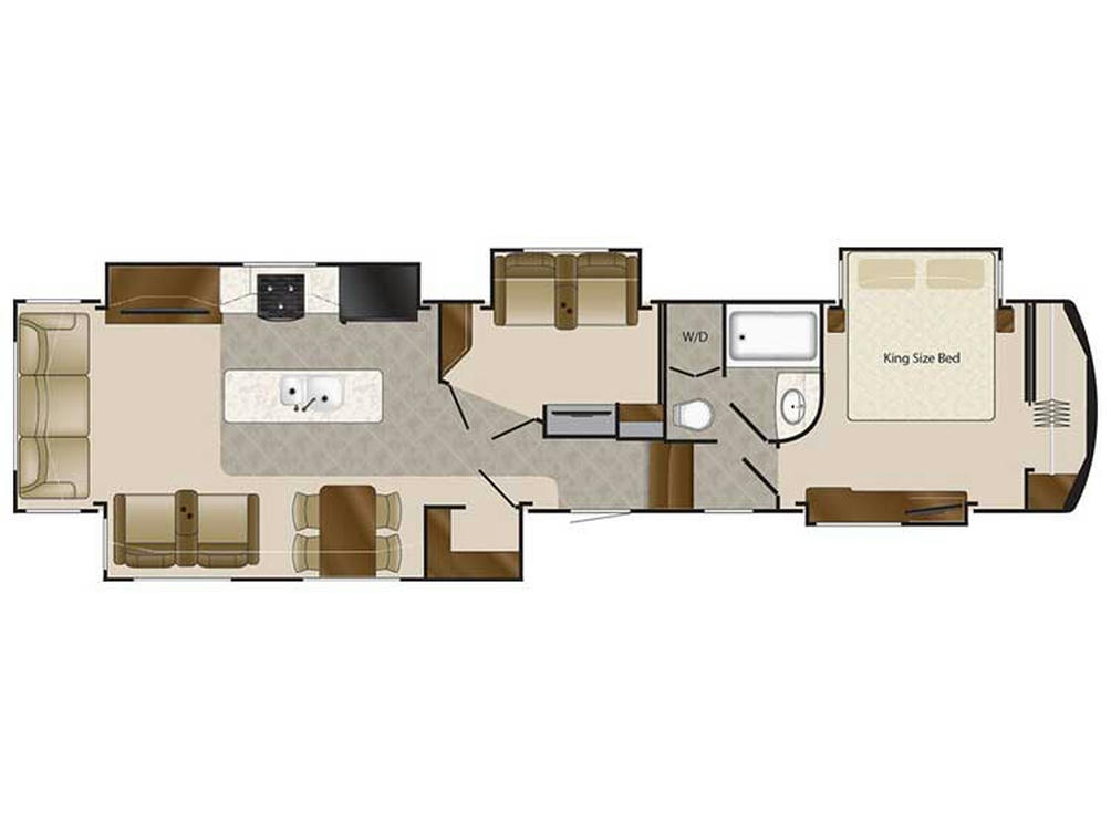 2018 Elite Suites 44 CUMBERLAND Floor Plan