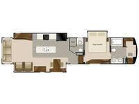 2019 Elite Suites 44 HOUSTON Floor Plan