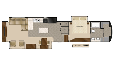 2018 Elite Suites 44 SANTE FE Floor Plan