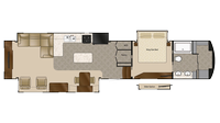 2019 Elite Suites 44 SANTE FE Floor Plan