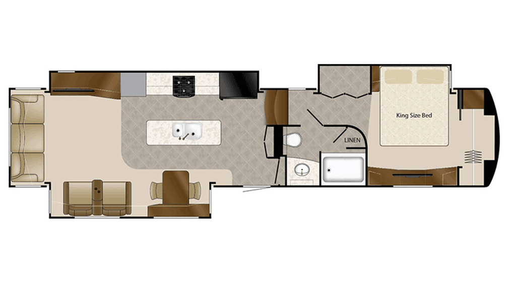2016 Mobile Suites 43 NAPLES Floor Plan