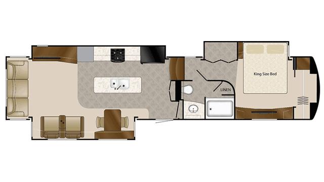 2016 Mobile Suites 43 NAPLES Floor Plan