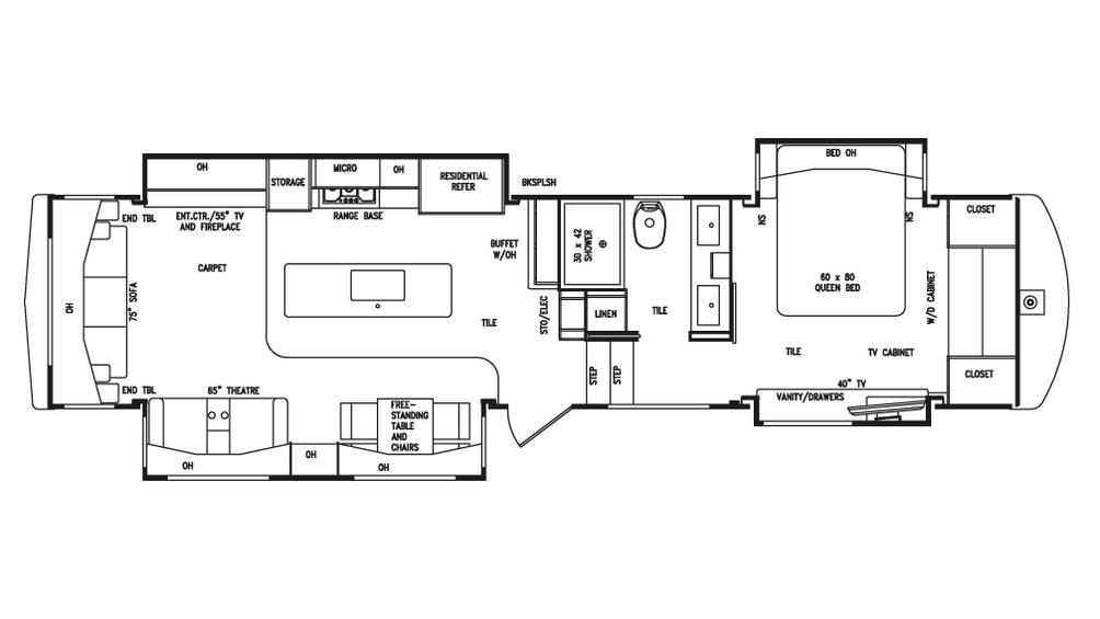 2018 Mobile Suites Aire 38 Floor Plan