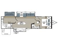 2015 Kodiak Ultra Lite 303BHSL Floor Plan
