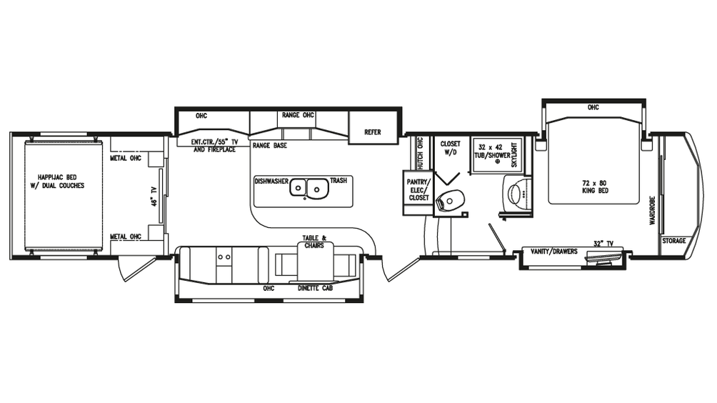 2018 Full House JX450 Floor Plan