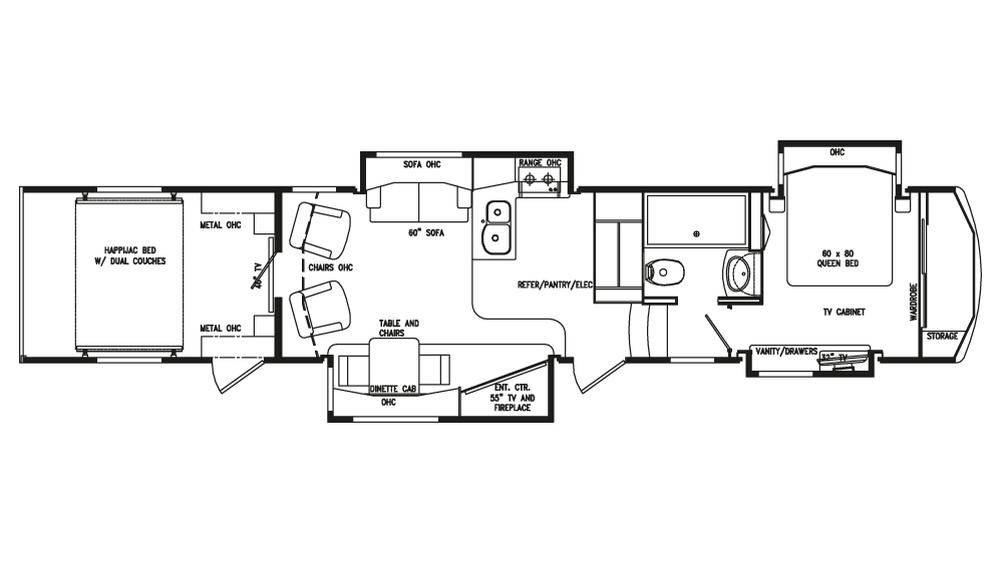 2018 Full House LX410 Floor Plan