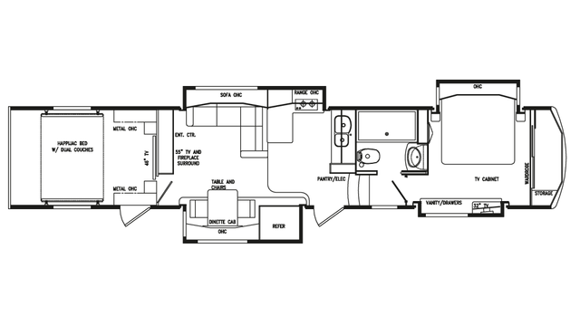 2018 Full House LX450 Floor Plan