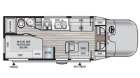 2016 REV 24CB Floor Plan