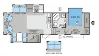 2011 Eagle Super Lite 31.5RLTS Floor Plan