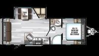 2019 Alpha Wolf 23RD-L Floor Plan