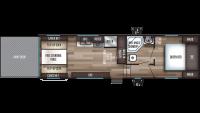 2019 Cherokee 255RR Floor Plan