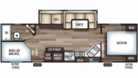 2019 Cherokee 264CK Floor Plan