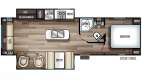 2019 Cherokee 274WK Floor Plan