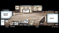 2019 Cherokee 284DBH Floor Plan