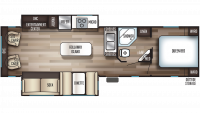 2019 Cherokee 304R Floor Plan