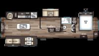 2019 Cherokee 39BR Floor Plan