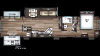 2019 Cherokee 39KR Floor Plan