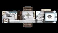 2019 Arctic Wolf 305ML6 Floor Plan