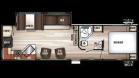 2019 Cherokee 274RK Floor Plan