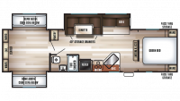 2019 Cherokee 304BS Floor Plan