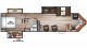 2018 Cherokee 304VFK Floor Plan