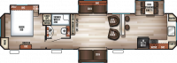 2019 Cherokee 39CL Floor Plan