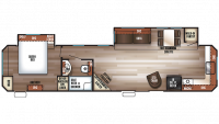 2019 Cherokee 39FK Floor Plan