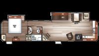 2019 Cherokee 39FK Floor Plan