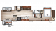 2017 Cherokee 39KR Floor Plan