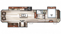 2019 Cherokee 39RL Floor Plan