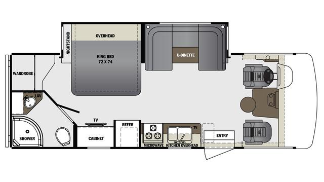 2017 Georgetown 3 Series 24W Floor Plan