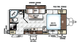 2018 Rockwood Mini Lite 2109S Floor Plan