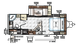 2018 Rockwood Mini Lite 2507S Floor Plan