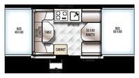 2019 Rockwood Freedom 1980 Floor Plan