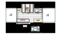 2019 Rockwood Freedom 2318G Floor Plan