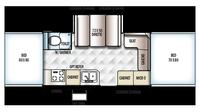 2017 Rockwood High Wall HW276 Floor Plan